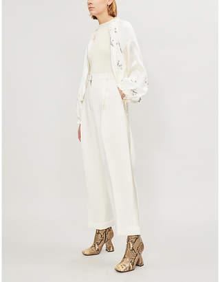 3.1 Phillip Lim Sequin-embellished silk-crepe jacket