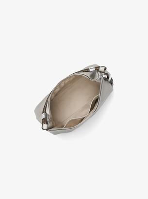 Michael Kors Skorpios Pebbled-Leather Shoulder Bag
