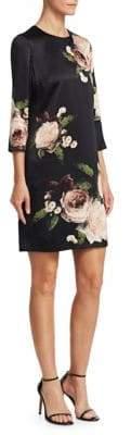 Erdem Emma Floral-Print Shift Dress