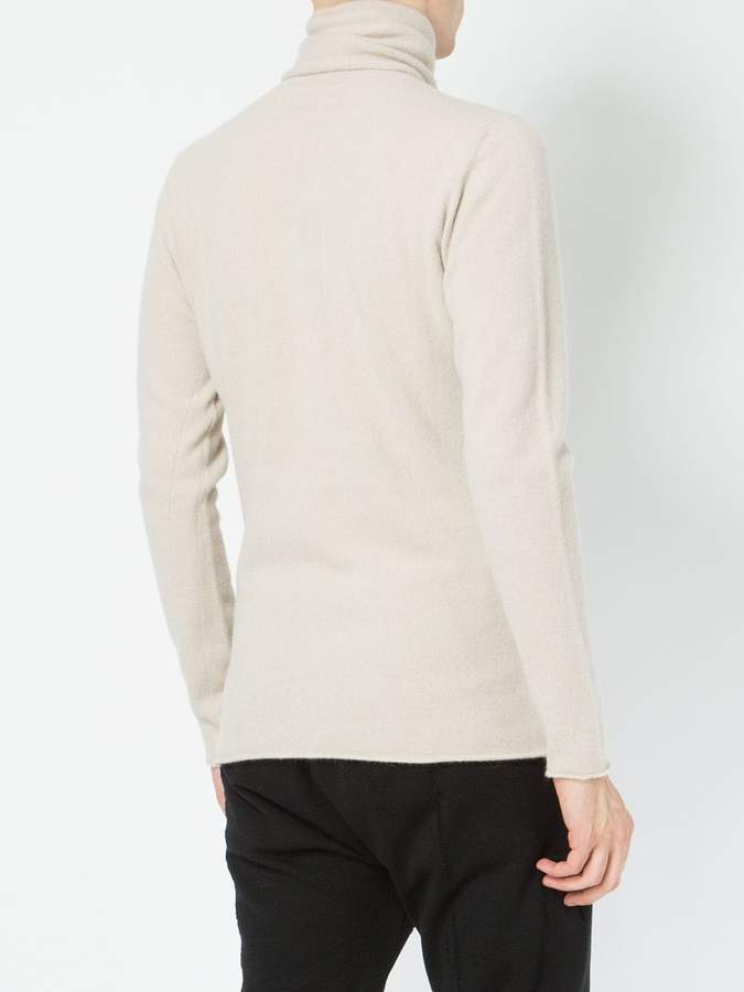 Label Under Construction roll neck jumper