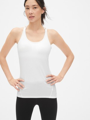 Gap GapFit Breathe Strappy Shelf Tank Top