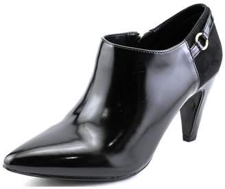 Bandolino Womens KAETO Pointed Toe Ankle Platform Boots