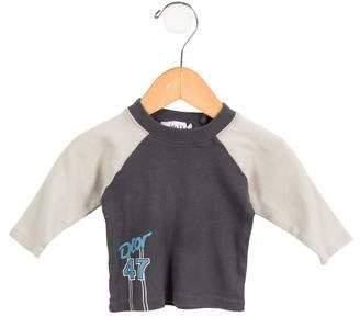 Christian Dior Boys' Long Sleeve Graphic Shirt