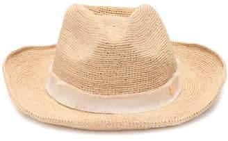 Heidi Klein Cape Elizabeth raffia cowboy hat