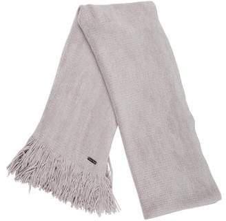 Calvin Klein Knit Fringe Scarf
