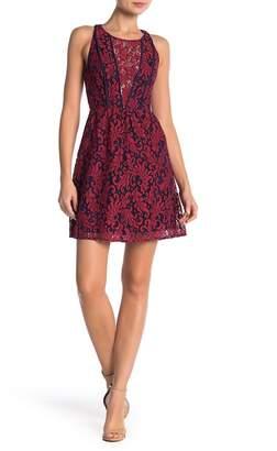 BCBGeneration Lace Knit Dress