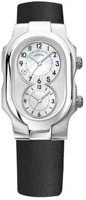 Philip Stein Teslar Signature Small Dual Time Zone Watch