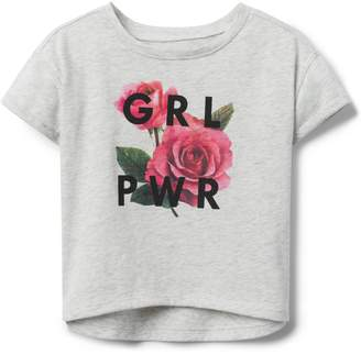 Crazy 8 Crazy8 Toddler GRL PWR Tee