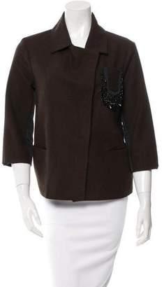 NUOVO Borgo Long Sleeve Oversize Blazer