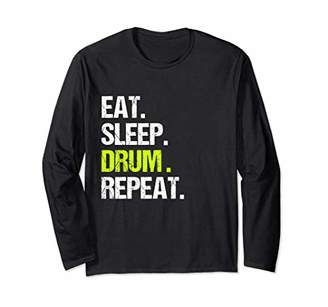 Funny Eat Sleep Drum Repeat Shirt Vintage Gift