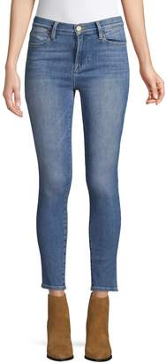 Frame Faded Cropped jeans