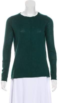 360 Cashmere Cashmere Knit Sweater Green Cashmere Knit Sweater