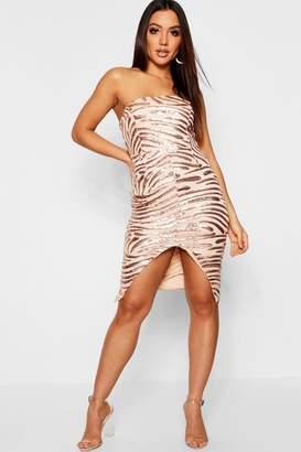 27c61a81e0ed4 boohoo Pink Sequin Dresses - ShopStyle UK