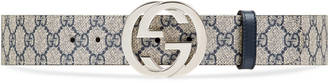 GG Supreme belt with G buckle $360 thestylecure.com