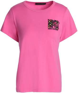 Marc Jacobs (マーク ジェイコブス) - マーク ジェイコブス クリスタル付き コットンジャージー Tシャツ