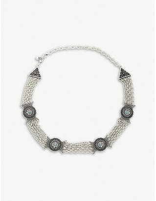 The Kooples Metal chain belt