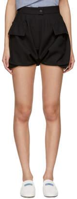 Carven Black Bloomer Shorts
