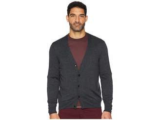 Perry Ellis Jersey Knit Cardigan
