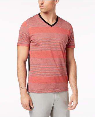 Alfani Men's Multi-Stripe T-Shirt, Created for Macy's