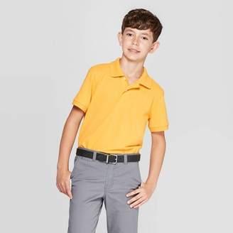 Cat & Jack Boys' Uniform Short Sleeve Pique Polo Shirt - Cat & JackTM