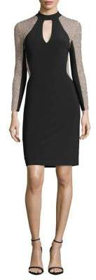 Xscape Evenings Petite Beaded Bodycon Dress