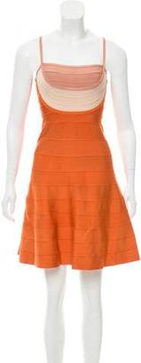 Herve Leger Britt Mini Dress w/ Tags