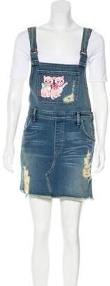 Wildfox Couture Denim Knee-Length Dress