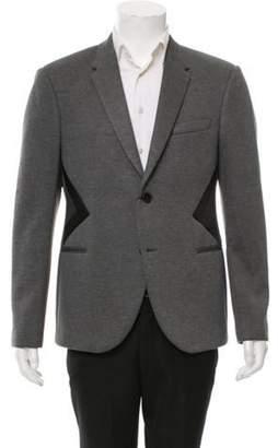 Neil Barrett Two-Button Notch-Lapel Blazer w/ Tags grey Two-Button Notch-Lapel Blazer w/ Tags