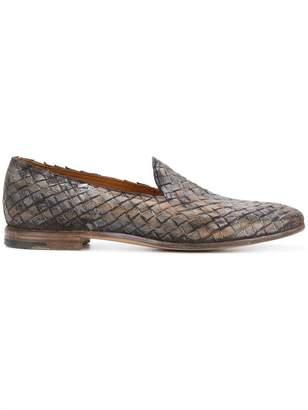 Premiata woven slippers