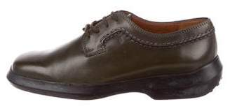 Tod's Leather Lace-Up Oxfords