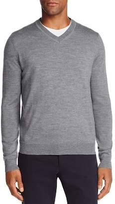 Bloomingdale's The Men's Store at V-Neck Merino Sweater - 100% Exclusive