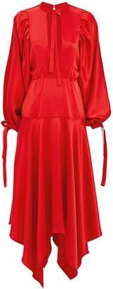 Self-Portrait Self Portrait Red Midi Dress