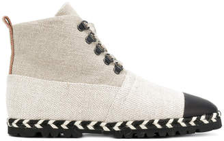 J.W.Anderson lace-up espadrille boots
