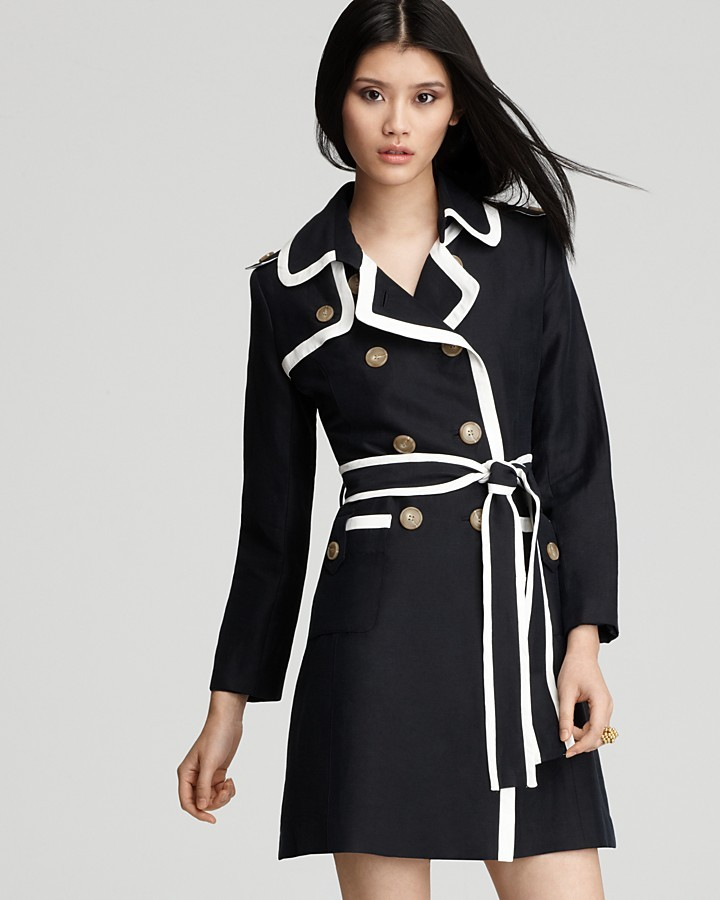 Milly Coat - Piped Combo Trench