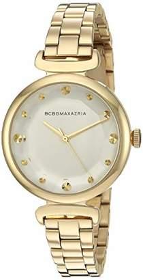 BCBGMAXAZRIA Women's Japanese-Quartz Watch with Stainless-Steel Strap