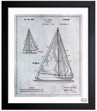 Oliver Gal Sailboat 1938 Framed Graphic Art