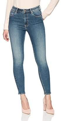 Denim Bloom Women's High Rise Super Skinny Power Stretch Jean 26X28