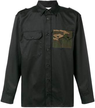 Gosha Rubchinskiy camo pocket military shirt