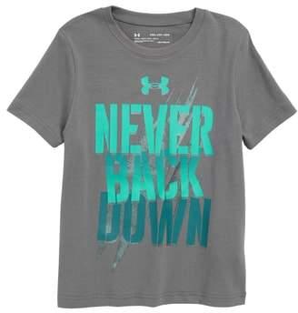 Under Armour Never Back Down HeatGear(R) Graphic T-Shirt