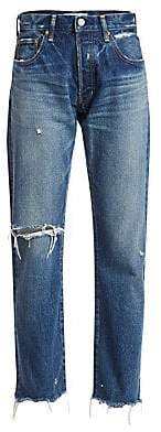 Moussy Vintage Women's Guilford High-Rise Straight-Leg Jeans