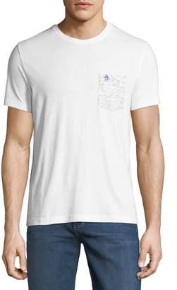 Original Penguin Men's Oxford Shark-Pocket T-Shirt