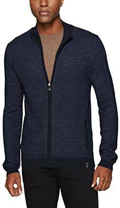 Calvin Klein Men's Merino Full Zip Sweater