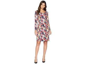 Betsey Johnson Floral Printed Scuba Dress Women's Dress