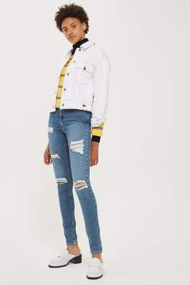 Topshop TALL Super Rip Jamie Jeans