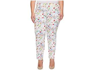 Krazy Larry Plus Size Pull-On Ankle Pants
