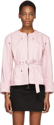 Isabel Marant Pink Nadia Chic Denim Jacket