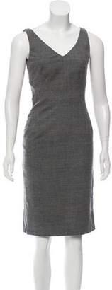 Michael Kors Plaid Wool Dress