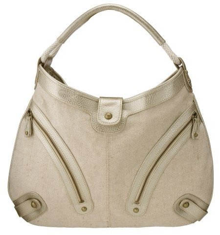 Limited Edition Large Hobo Bag - Tan/ Gold