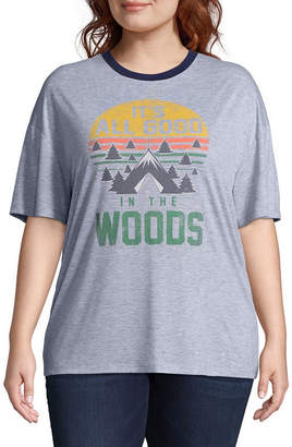 The Woods Hybrid Tees Into Tee - Juniors Plus