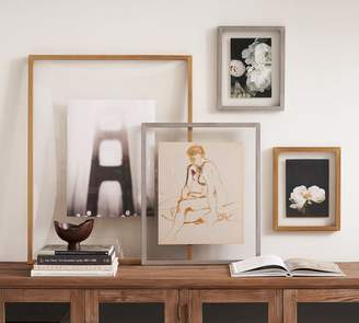 Pottery Barn Floating Gallery Frame - Metal Finish